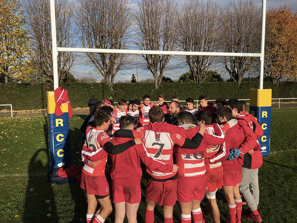 Clamart Rugby 92 Victoire des Juniors contre Pompadour 26 novembre 2017