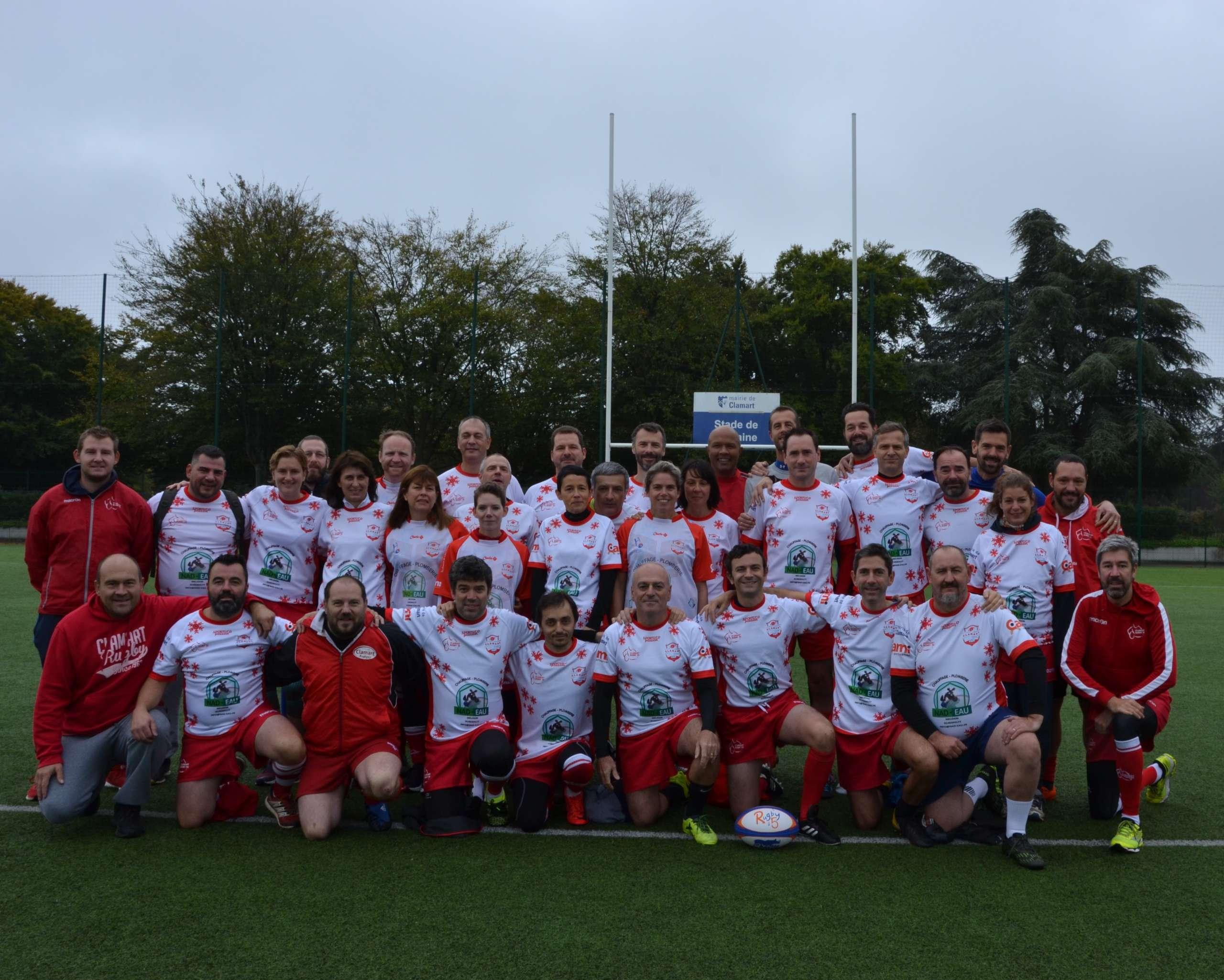 Clamart Rugby 92 Equipe Ice team Rugby à 5