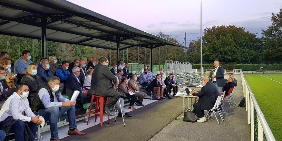Clamart Rugby 92 Meeting Bernard Laporte au Stade de la Plaine le 8 septembre 2020