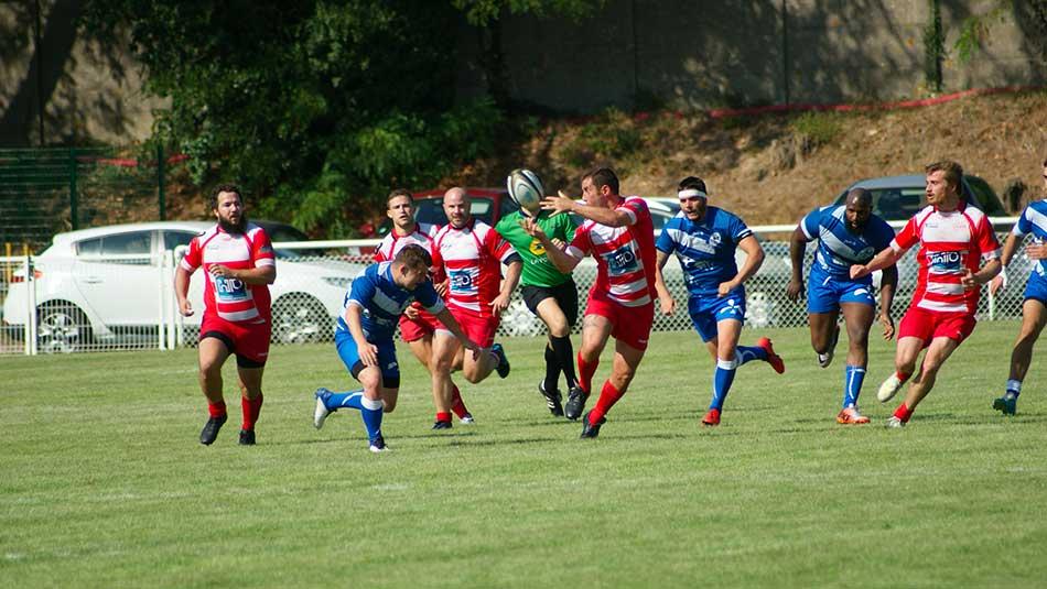 Clamart Rugby 92 - Match Fédérale 3 - Seniors contre RC Pays de Meaux 5 septembre 2020