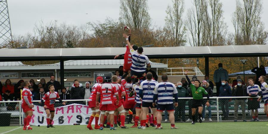 Victoire bonifiée Clamart rugby 92 au stade de la Plaine contre le RC Compiègne