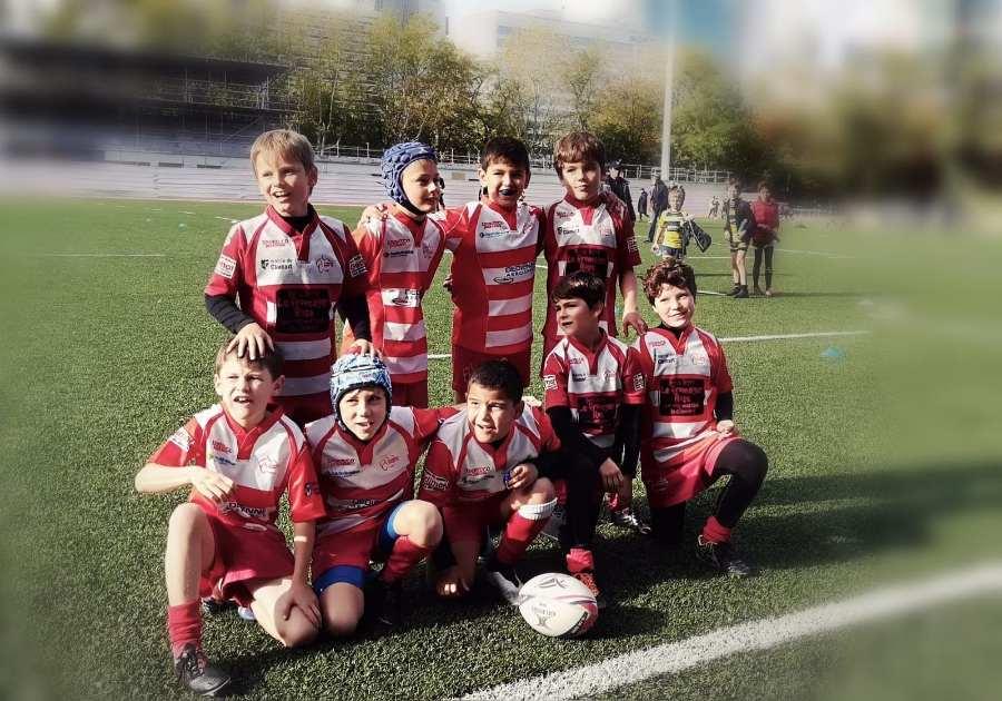 Résultats du 10 Octobre 2020 Ecole de Rugby de Clamart - photo d'équipe des U10
