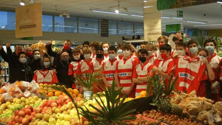 photo Super U Clamart devient partenaire du Clamart Rugby 92