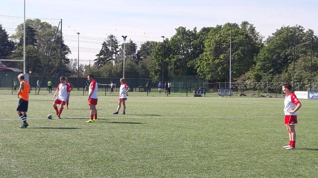 Reprise du Rugby à 5 - photo de match à Massy