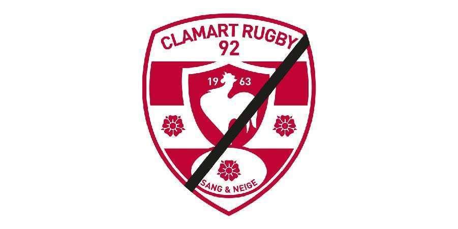 Logo Clamart Rugby 92 - Décès de Michel Sénéchal