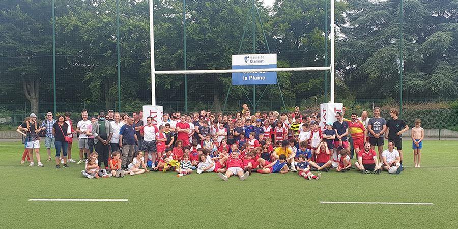 Fête du Clamart Rugby 92 saison 2020 / 2021 - photo de groupe